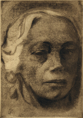 Self Portrait, Kathe Kollwitz (1867 - 1945)