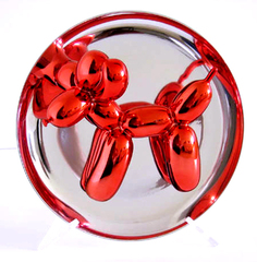 Red Balloon Dog Multiple With Original Publisher\'s Box, 1995, Jeff Koons