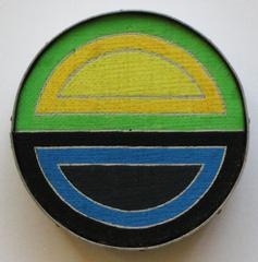"Frank Stella ""Sinjerli I 1964"", 1971, Richard Pettibone"