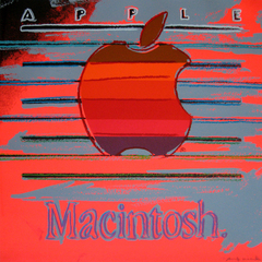 Apple, From the Ads Portfolio (F&S IIB. 359), 1985, Andy Warhol
