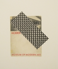 Detail of: Reproduction I Museum of Modern Art, Modern Architecture International Exhibition catalog (1932), version 2, Steven Baldi