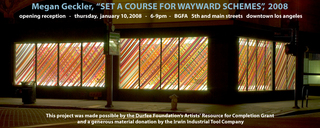 """Set a course for wayward schemes"","