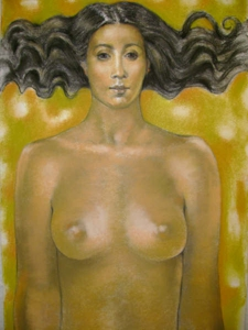Muchacha-chalk_pastel_on_paper-16_x_14_inches