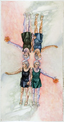 Cloning Mom and Dahlias, Robin Adsit