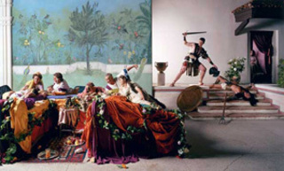 The Banquet from the Last Days of Pompeii, Eleanor Antin