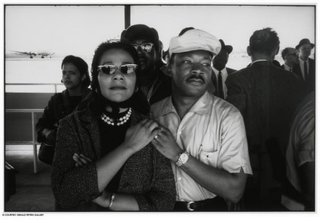 Coretta Scott King and Martin Luther King, Jr., Montgomery Airport,Dan Budnik