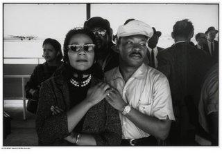 Coretta Scott King and Martin Luther King, Jr., Montgomery Airport, Dan Budnik