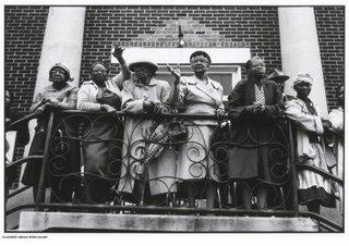 Church Mothers Outside the Mt. Zion AME Church, Montgomery, Alabama, Dan Budnik