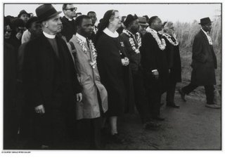 Clergy Leading the March to Montgomery, Dallas County, Dan Budnik
