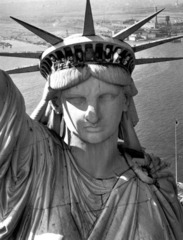Statue of Liberty, New York Harbor, 1952 , Margaret Bourke-White