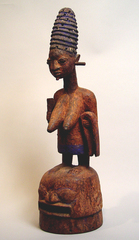 Epa Mask of a Queen, Yorouba Culture