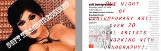 Soft Transgressions Postcard, Donald Daedalus