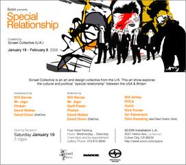 Special Relationship Flyer,