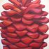 Deep_red_pinecone__48x60__oil_on_canvas