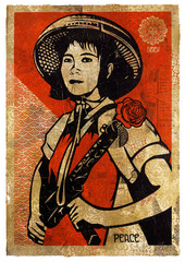 Revolutionary Woman,Shepard Fairey