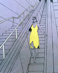 Escalator 06, James Strombotne