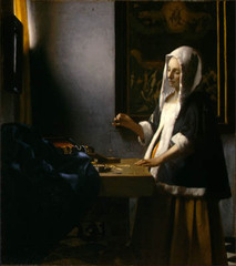 Woman Holding a Balance , Johannes Vermeer