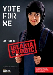 .. or you\'re islamaphobic, Sarah Maple