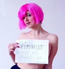I\'m a feminist because my friends are,Sarah Maple
