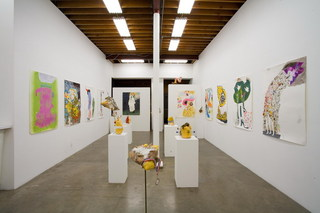 Doug Harvey\'s Great Expectorations (installation view),Michael Smoler (High Energy Constructs)