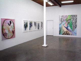 The Dominant Plantes Of (group show-installation view), Michael Smoler (High Energy Constructs)