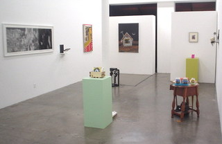 Time Machine (group show - installation view),Michael Smoler (High Energy Constructs)