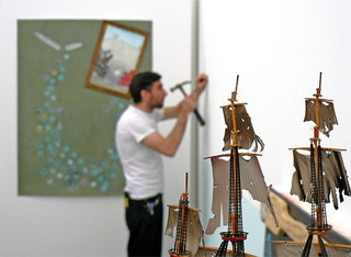 installing Boat Show, Michael Smoler (High Energy Constructs)