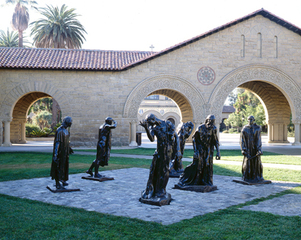 Rodin Sculpture Garden - Stanford University,