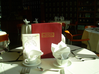 Over 300 Teas Available, Chado Tea Room