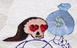 White Mr. Lover-Lover\' (detail),, Anna Galtarossa, Daniel González