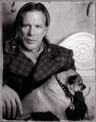Mickey Rourke and Loki, Jim McHugh
