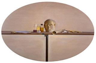 Roman Head, Bottles and Paint Tubes..., Rodrigo Moynihan