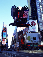 American Eagle - Times Square - New York - series II - image I, MASLEN & MEHRA