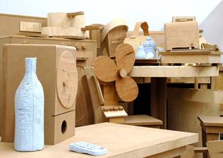 Detail of Yard Sale (studio view), Jade Townsend