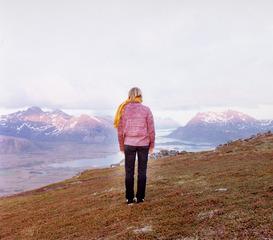 Der Wanderer IV, Elina Brotherus