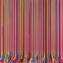 Puddle Painting: Magenta,Ian Davenport