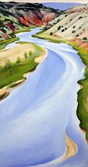 Blue River, Georgia O\'Keeffe