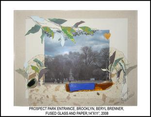 PROSPECT PARK ENTRANCE, Beryl Brenner