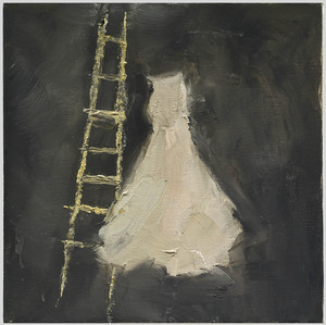 White_dress_and_ladder