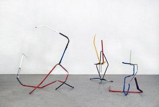 Installation view, Ida Ekblad