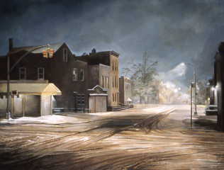 Snowy Night, Tom Keough