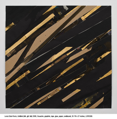 Untitled (blk.gld.blk.),Lecia Dole-Recio