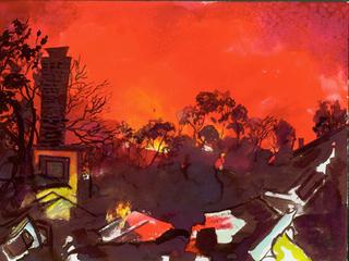Santa Barbara Fires, sandy rodriguez