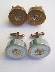 Shotgun shell cuflink, Ron Dotson