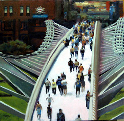 Millennium Bridge, London, Harry Bell