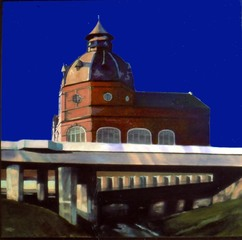 Building by a Motorway, Harry Bell