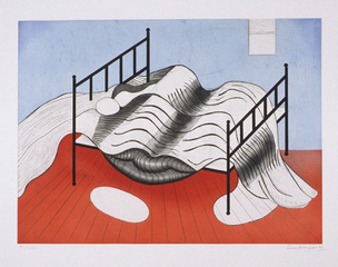 Bed #2, Louise Bourgeois