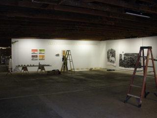 , gallery installation