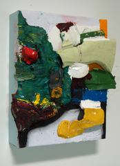 "\'GREEN EGGS & HAM\' - ""Painting Towards Form"", Christopher Lawrence Mercier"