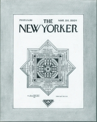 """The DIOS Neuroprocessor: The Soul of the Coming Race of Human Computers,"" A proposal for the cover of The New Yorker magazine, Frederick Loomis"